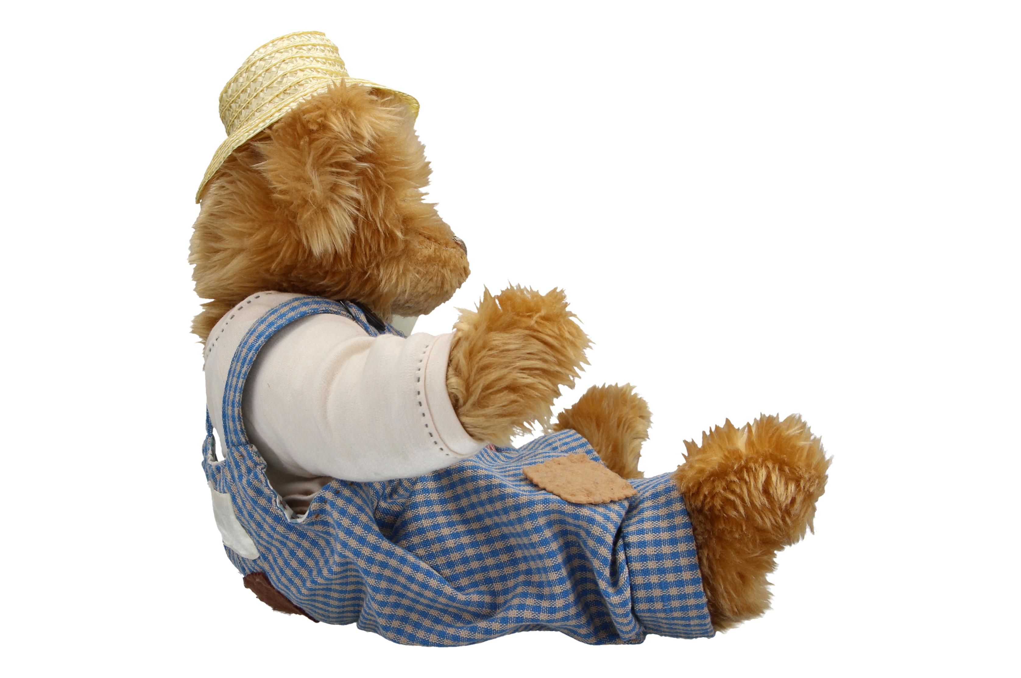 Details about A Hillbilly Bear Family Daddy Bear Teddy bear Lloyds pharmacy